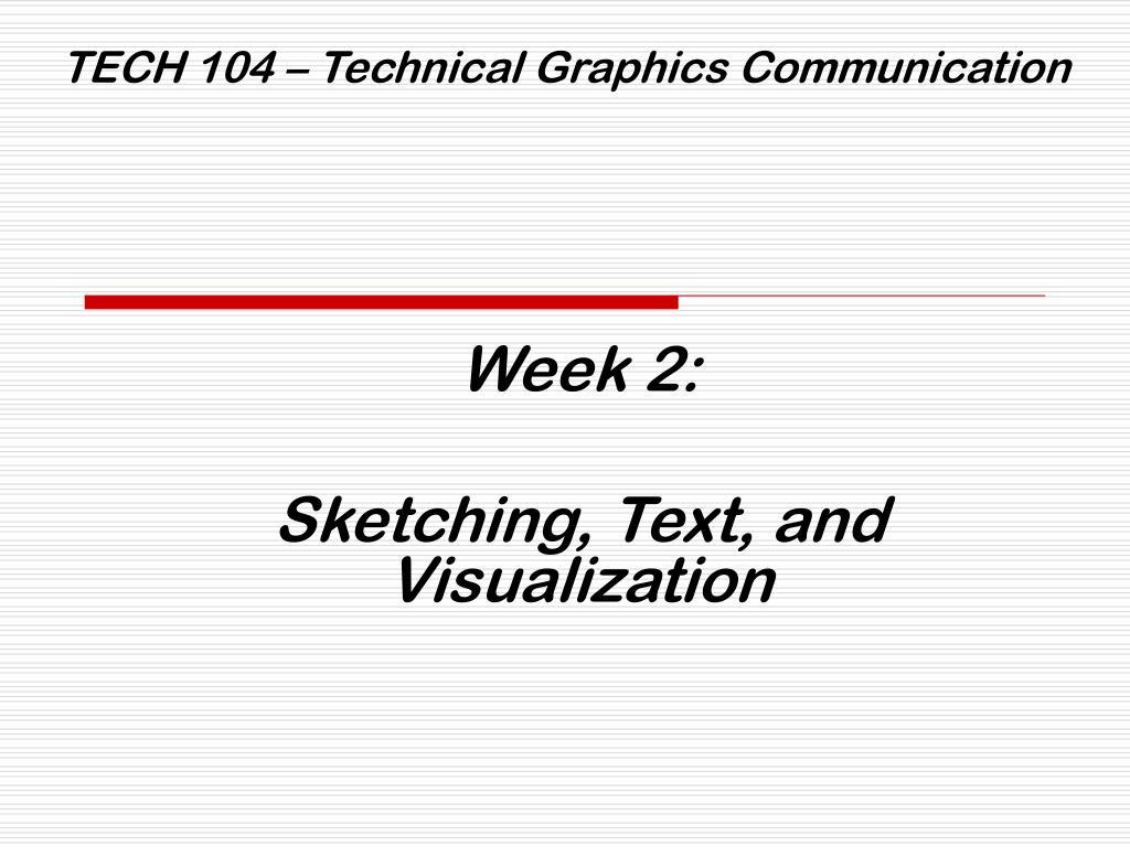 tech 104 technical graphics communication l.