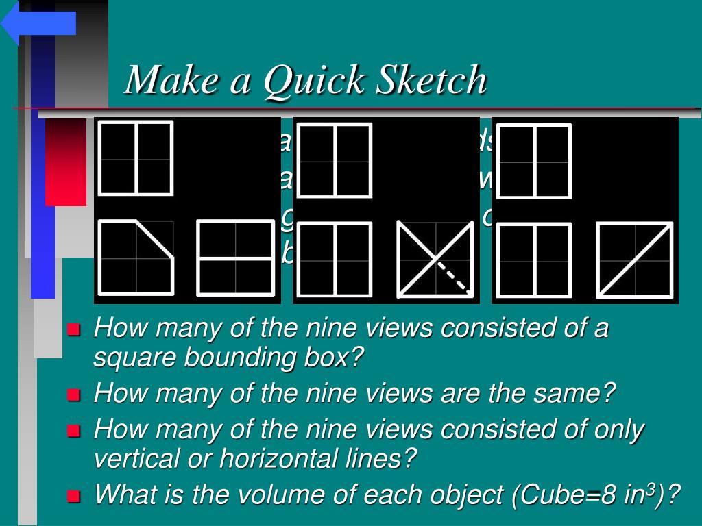 Make a Quick Sketch