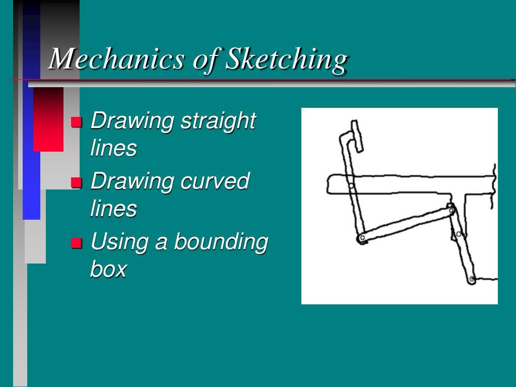 Mechanics of Sketching