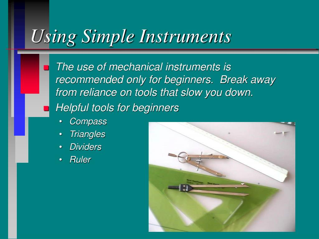 Using Simple Instruments