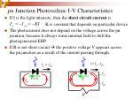 pn junction photovoltaic i v characteristics29