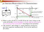 pn junction photovoltaic i v characteristics33