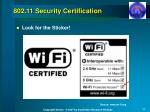 802 11 security certification