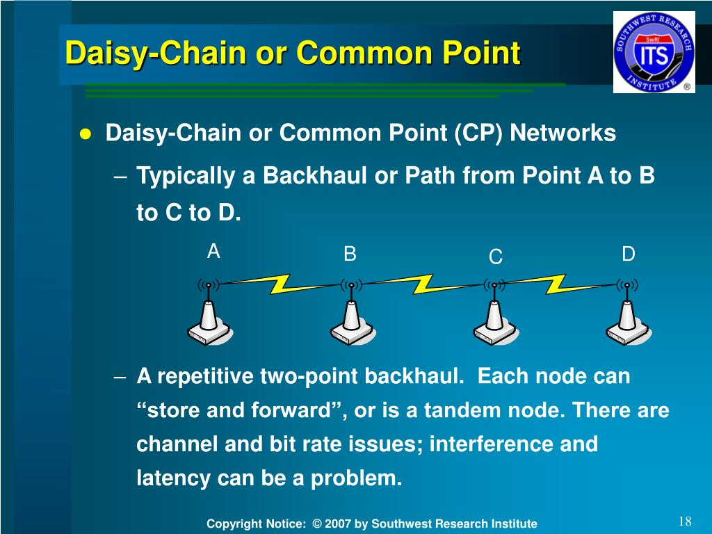 Daisy-Chain or Common Point
