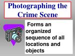 photographing the crime scene25