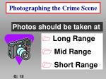 photographing the crime scene26