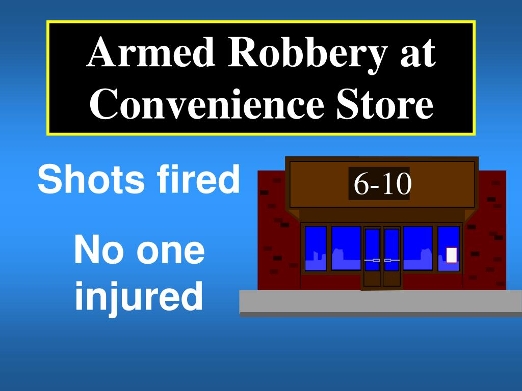 Armed Robbery at Convenience Store
