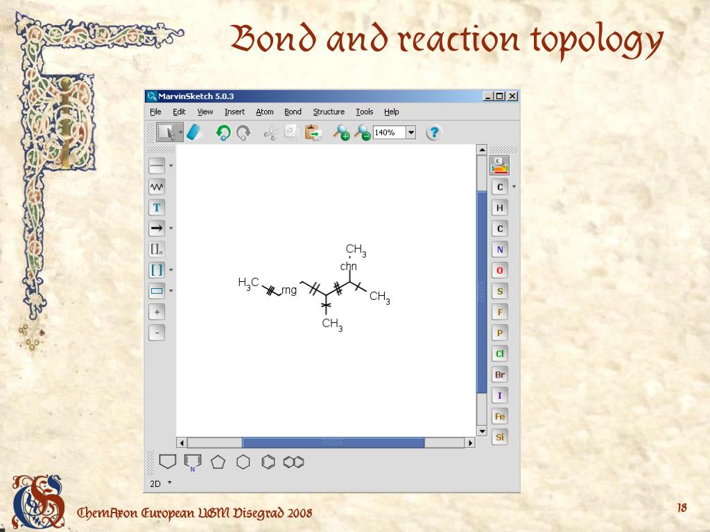 Bond and reaction topology