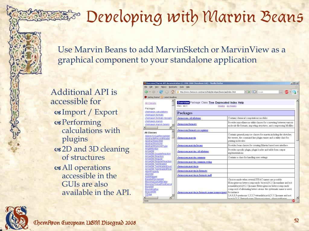 Developing with Marvin Beans