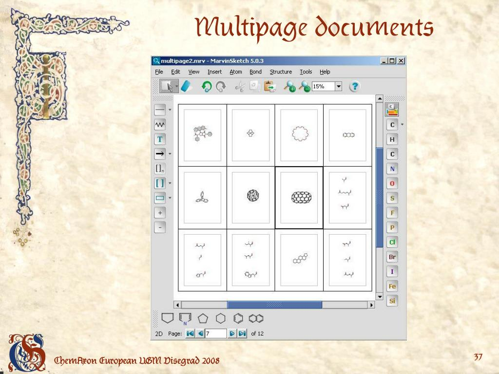 Multipage documents