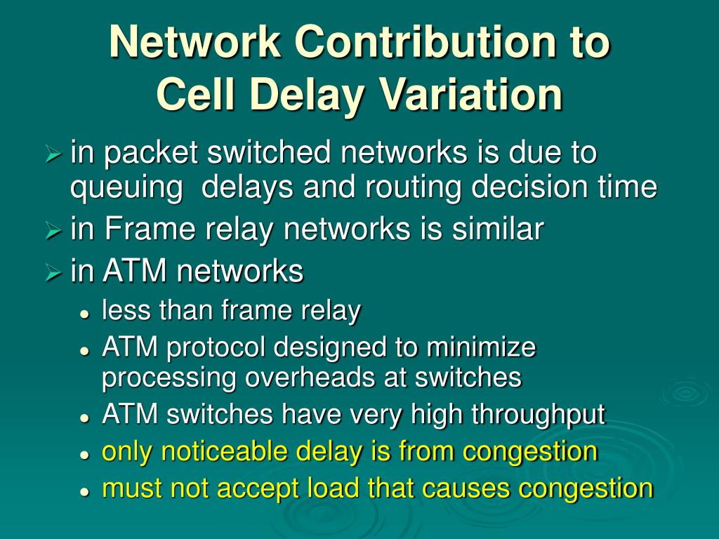 Network Contribution to