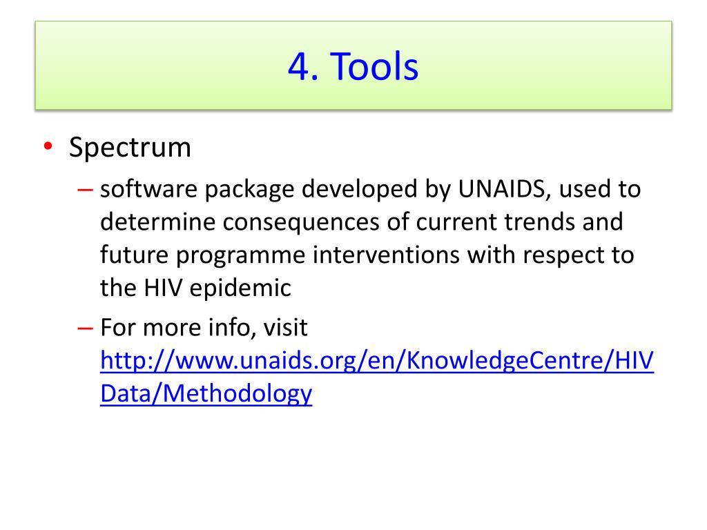 4. Tools