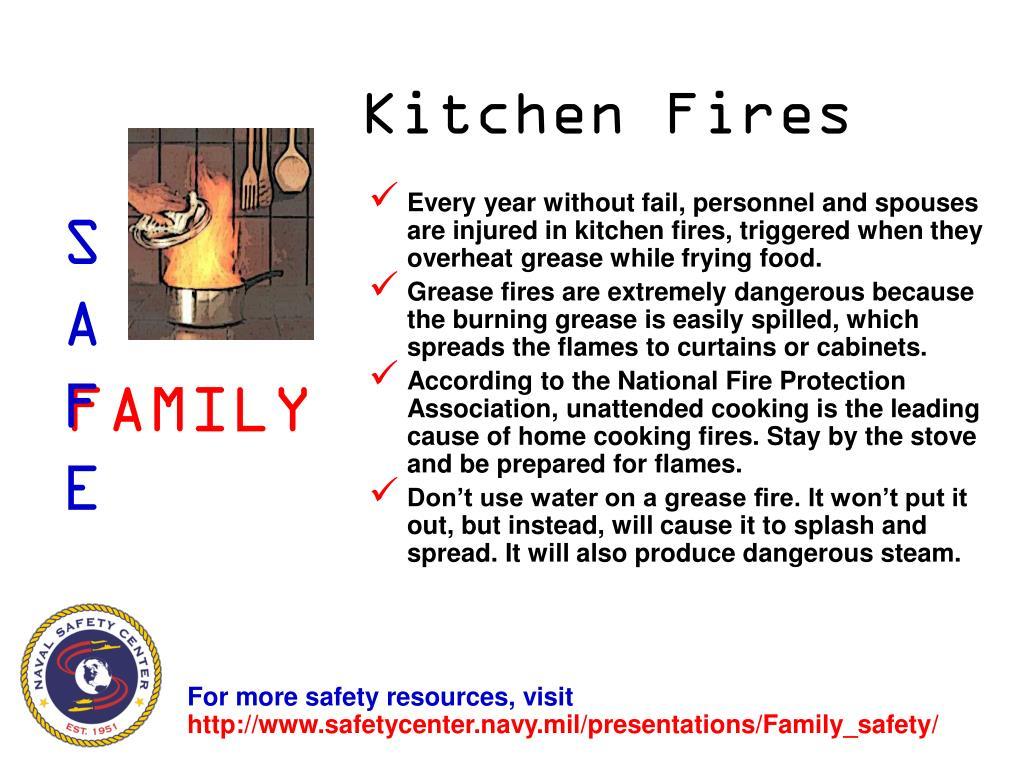Kitchen Fires