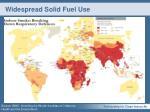 widespread solid fuel use