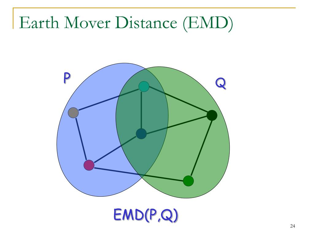 Earth Mover Distance (EMD)