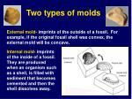 two types of molds