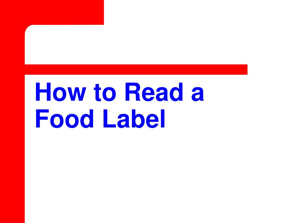 How to Read a