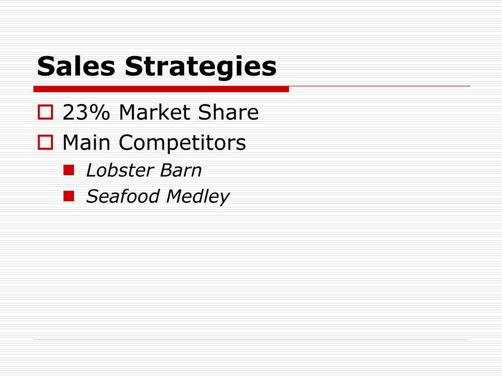 Sales Strategies