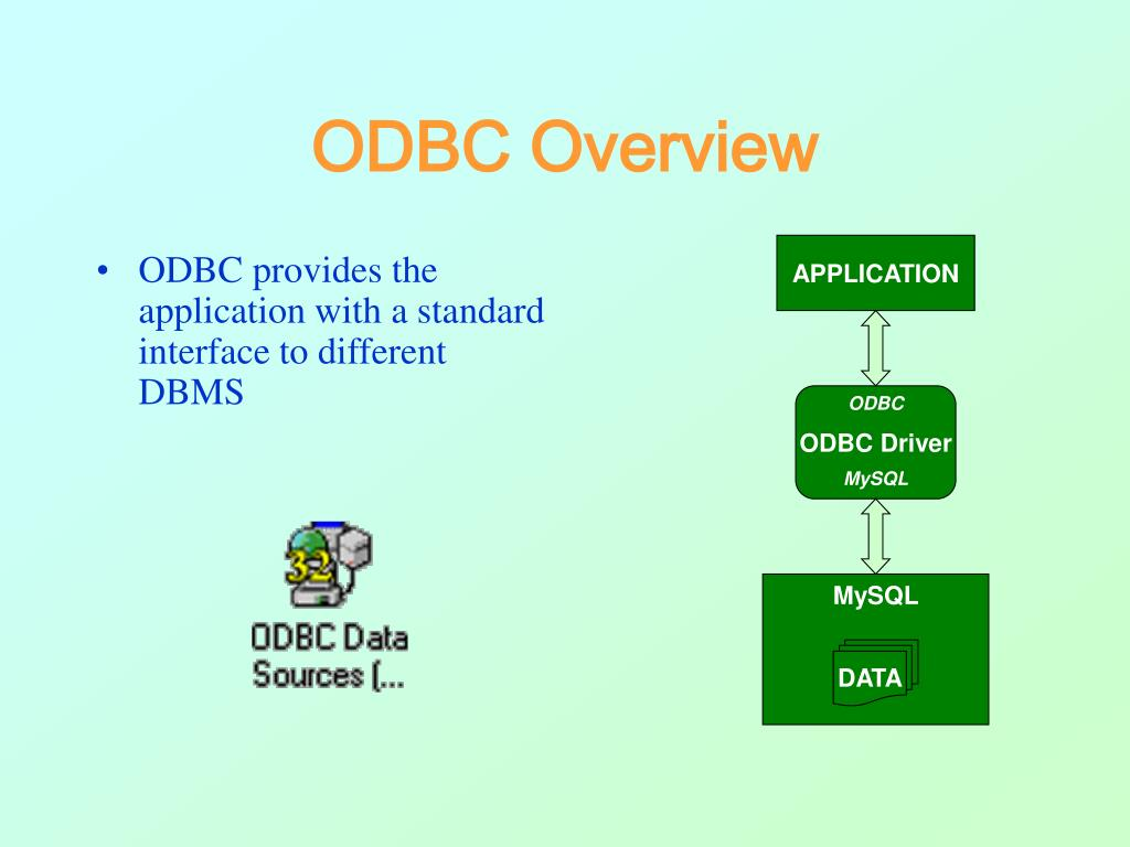 ODBC Overview