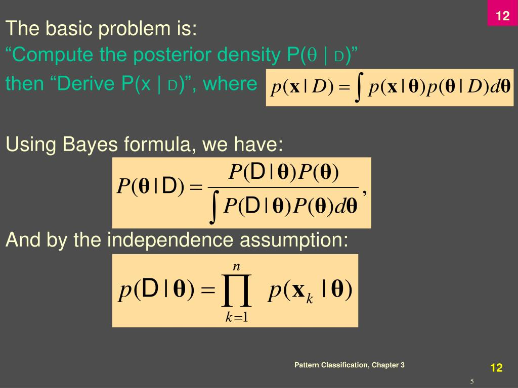 The basic problem is: