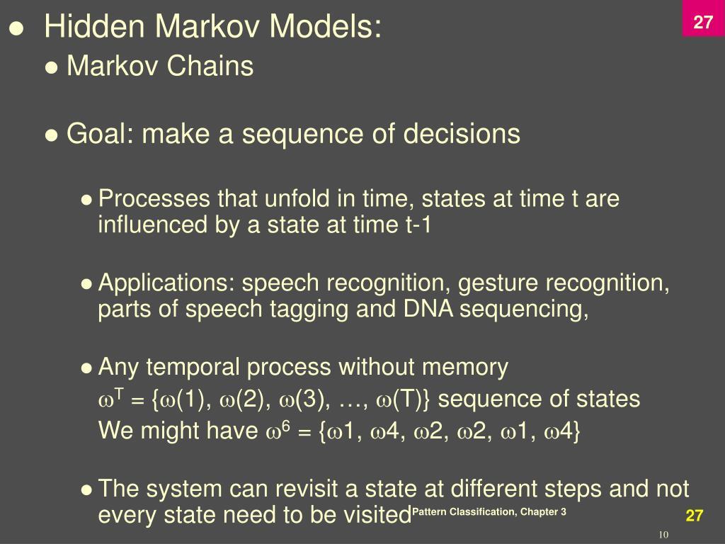 Hidden Markov Models: