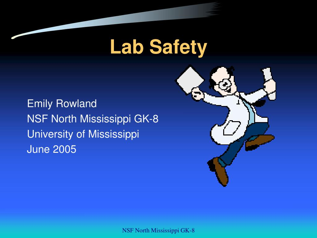safety in laboratory essay Recognizing laboratory safety purpose: the purpose of this lab is to stay safe no matter what you're doing in lab you may be working with dangerous materials such as glass or acid procedure: i am following the procedure described in pages 21-24 in the biology laboratory manual.