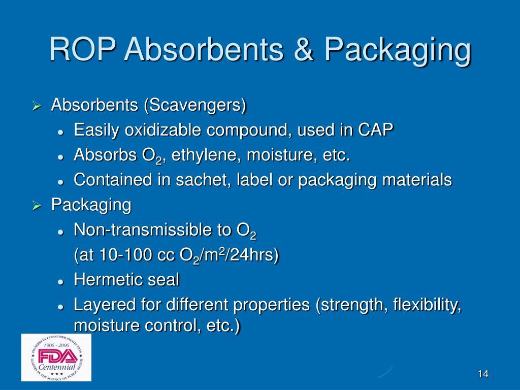 ROP Absorbents & Packaging
