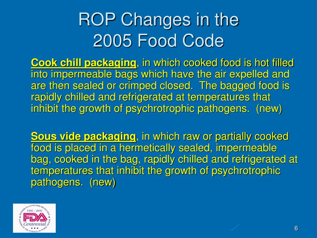 ROP Changes in the