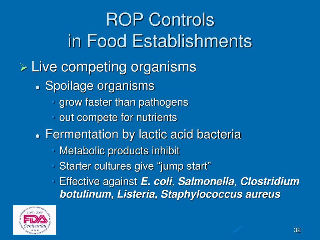 ROP Controls