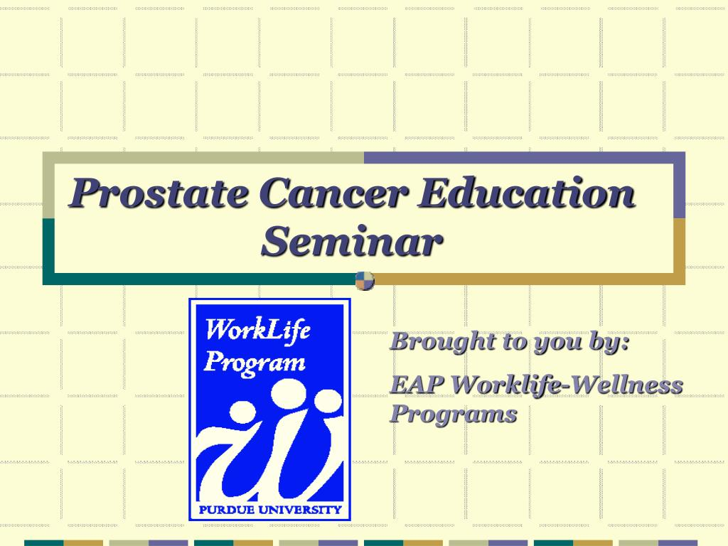 Prostate Cancer Education