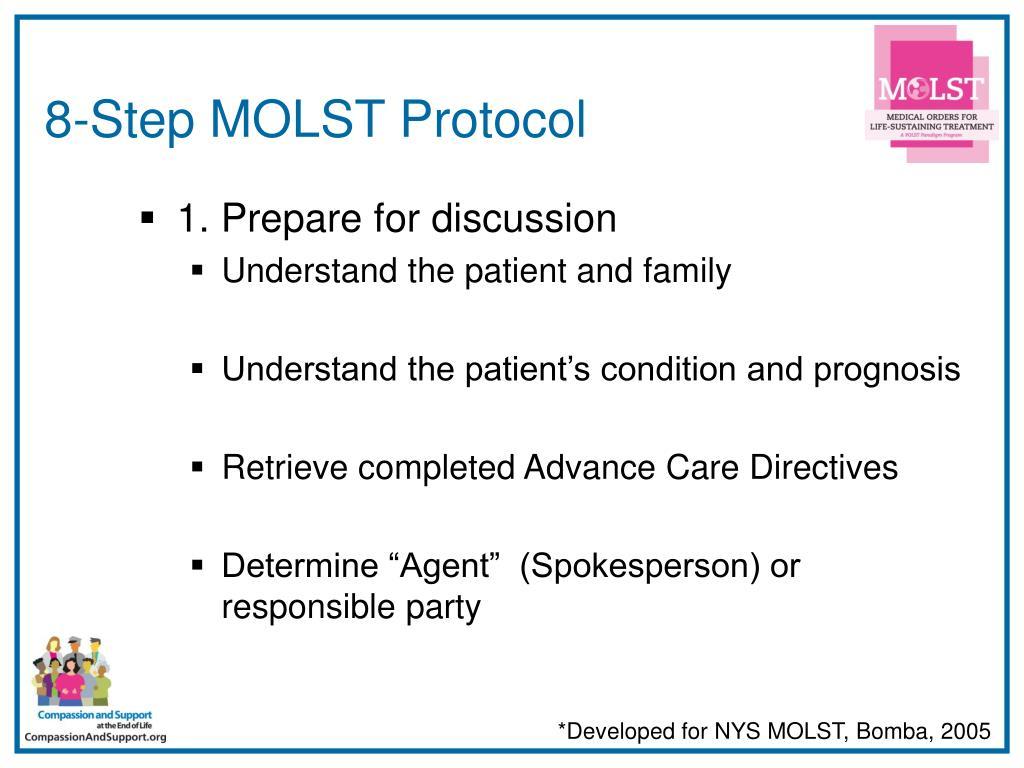 8-Step MOLST Protocol
