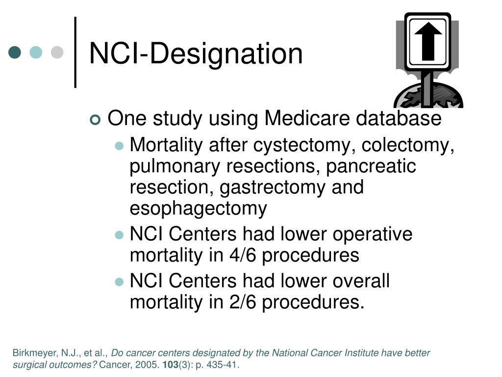 NCI-Designation