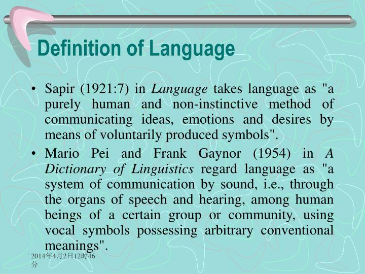 Ppt An Introduction To Linguistics Powerpoint Presentation Id637521