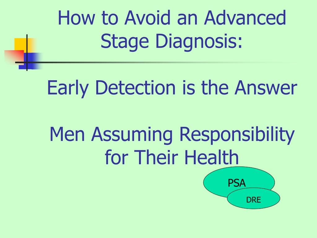 How to Avoid an Advanced Stage Diagnosis: