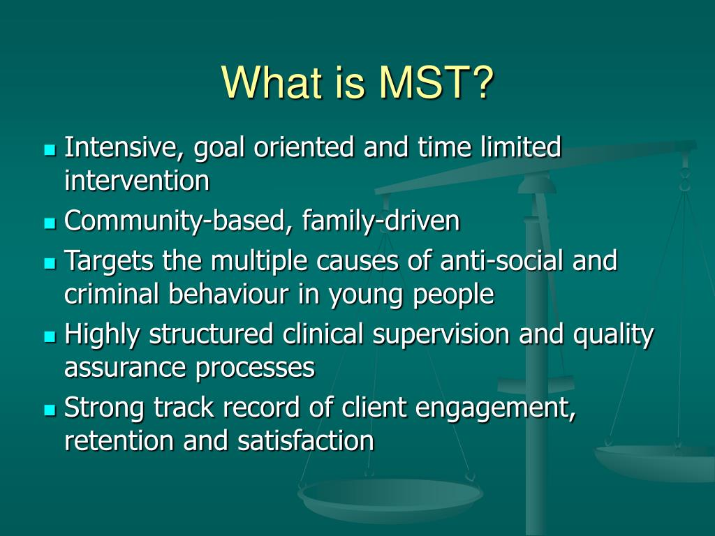 What is MST?