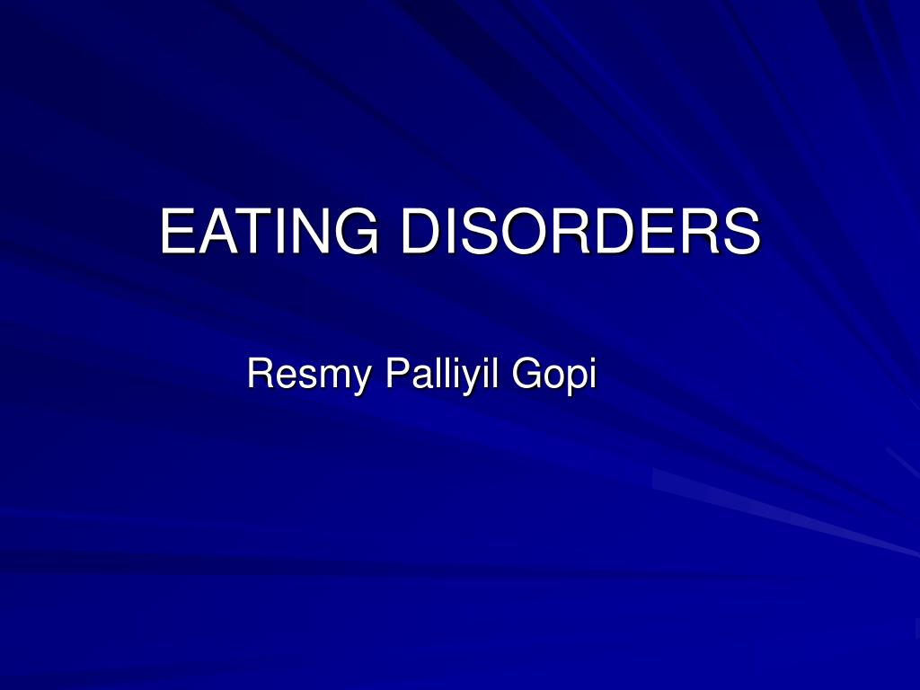eating disorders l.