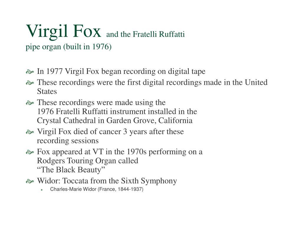 Virgil Fox