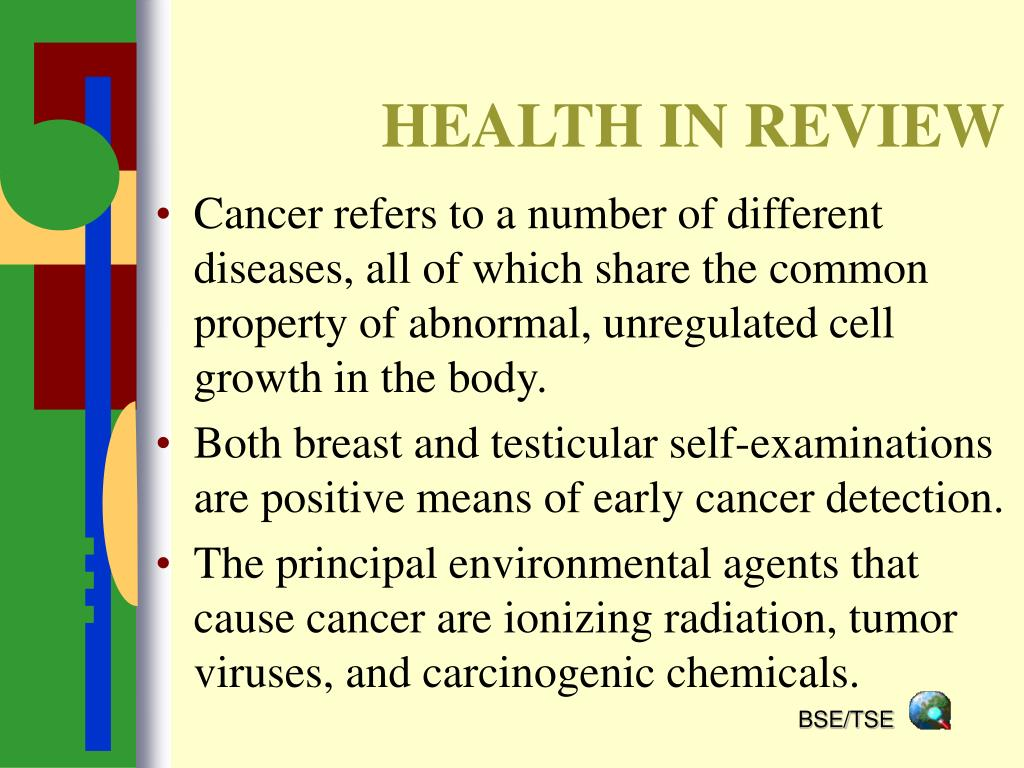 HEALTH IN REVIEW