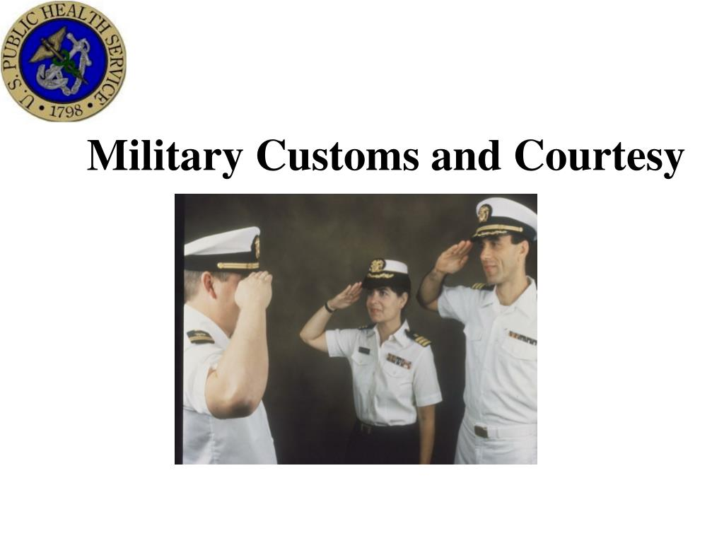 military customs and courtesy l.