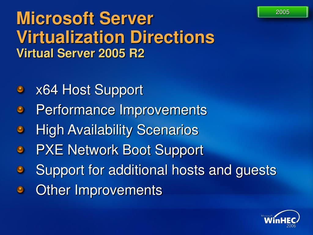 PPT - Microsoft Server Virtualization Strategy And Virtual