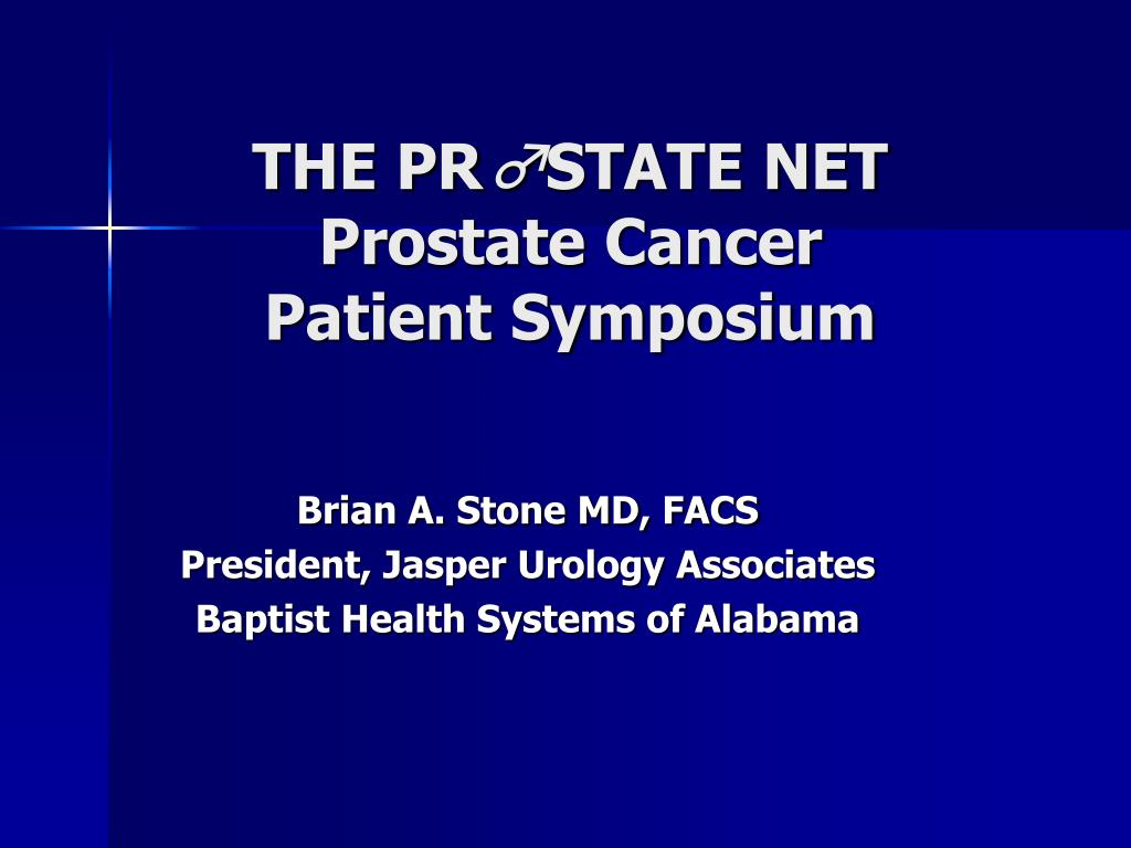 the pr state net prostate cancer patient symposium