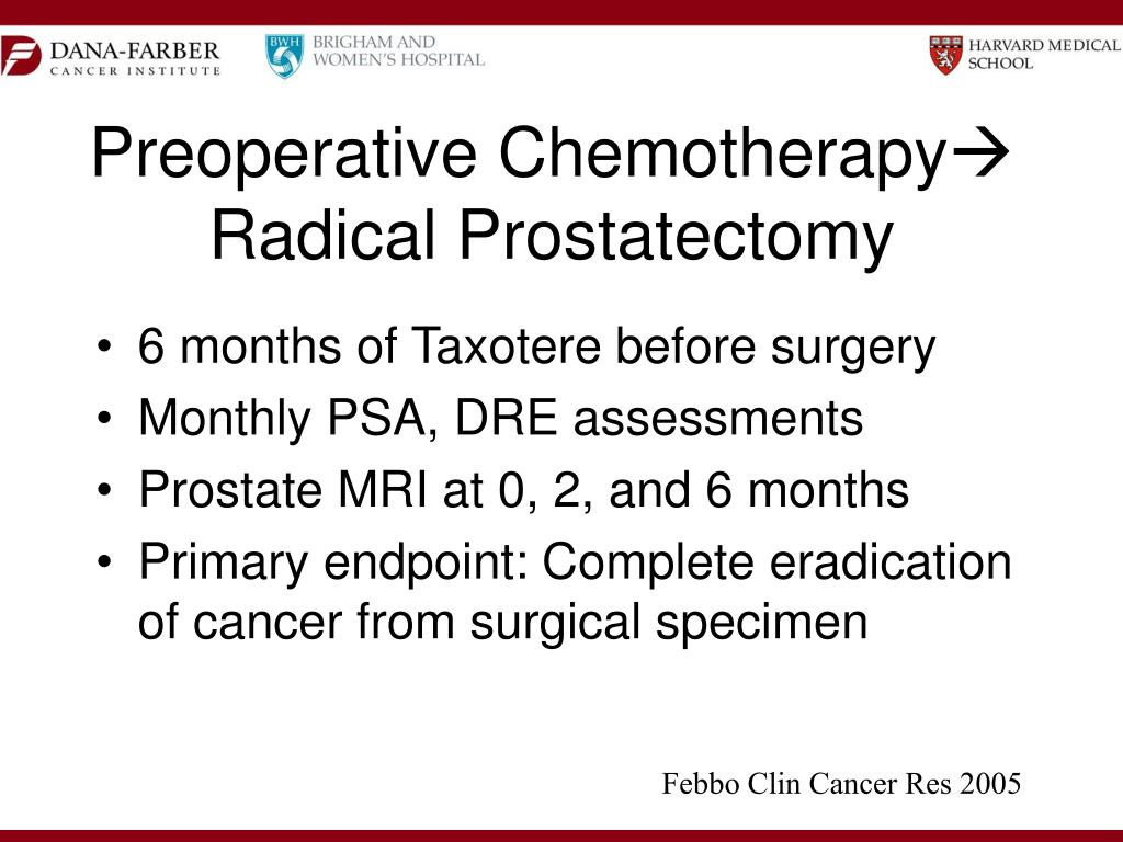 Preoperative Chemotherapy