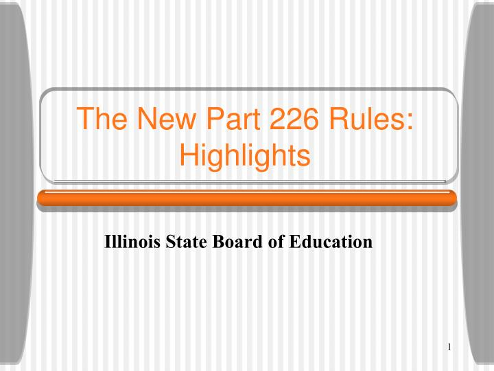 the new part 226 rules highlights n.