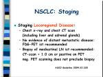 nsclc staging