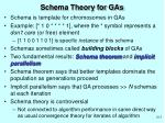 schema theory for gas1