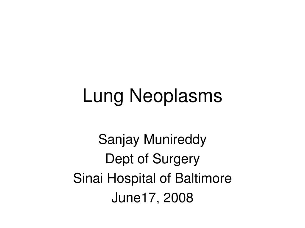 lung neoplasms l.