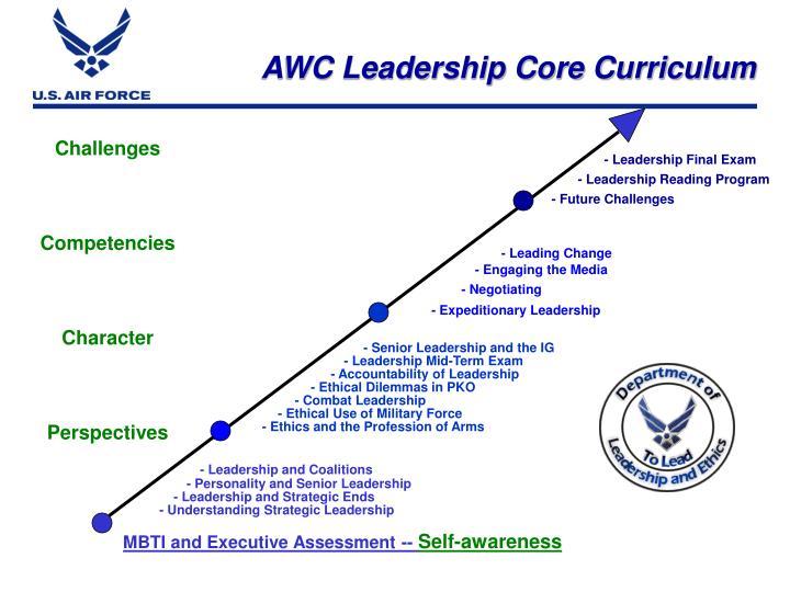 AWC Leadership Core Curriculum
