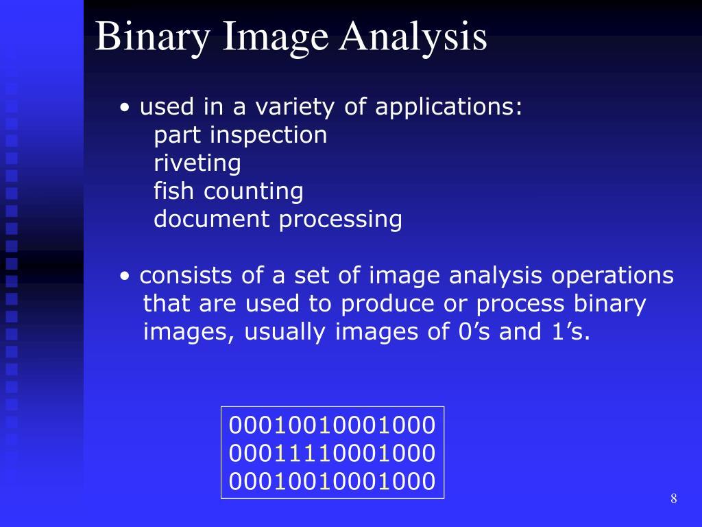 Binary Image Analysis