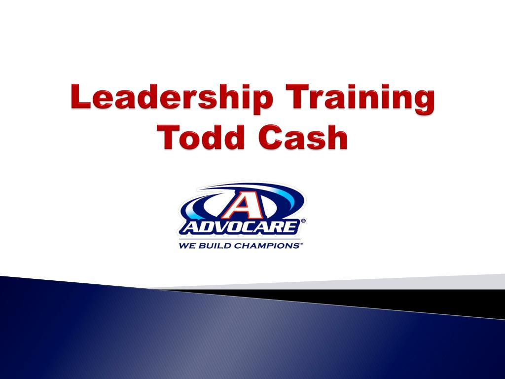 leadership training todd cash l.