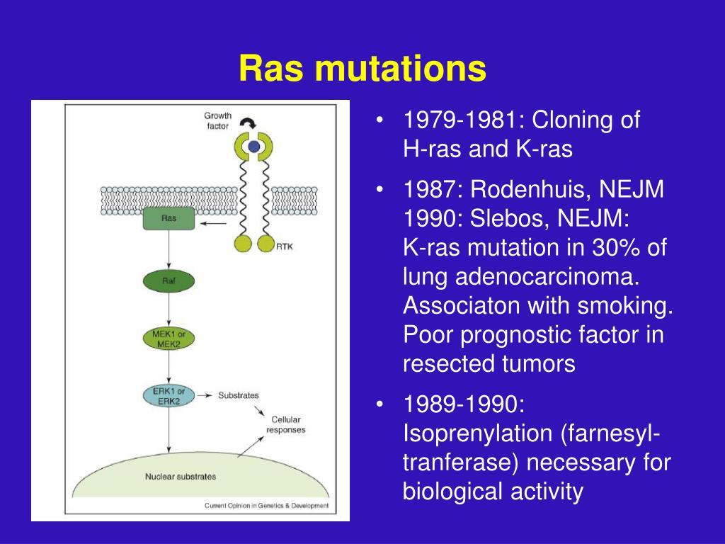 Ras mutations